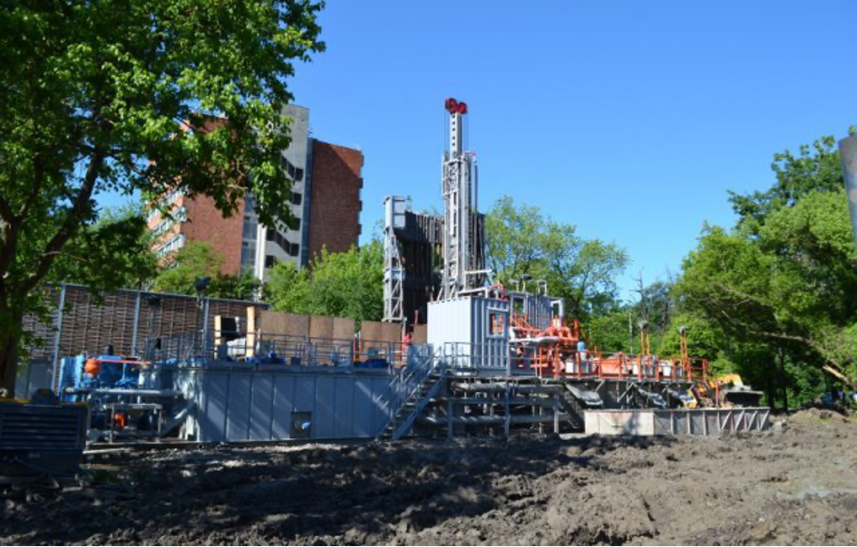 Construction of the New-Szeged geothermal cascaded system in Szeged (KEOP-4.10.0/B/12-2013-0034)